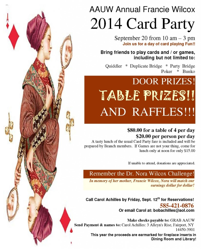 AAUW-CardParty-2014